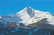 Big Sky Montana looking at Lone Peak Mountain