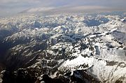 Aerial view of the American Rockies