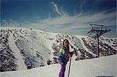Aggie at Mt Hotham Victoria