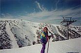 Aggie at Mt Hotham Victoria