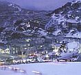 view of the mt hotham village from the summit