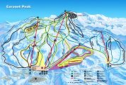 overview of Coronet Peak Ski Park