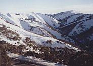 Blue Mountain Ranges Australia,at Mt Hotham