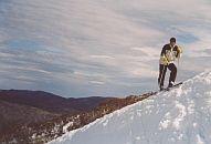 Thredbo mountain our friend towards the end of the ski season