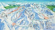 overview of Cardrona Ski Park