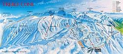 treblecone ski map