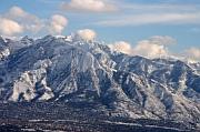 North Face of Mt Olympus east of Salt Lake City Utah