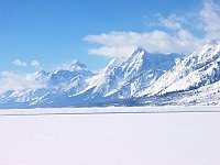 Jackson Hole in the vicinity of Grand Tetons