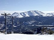 breckenridge co with rocky mountains in the background