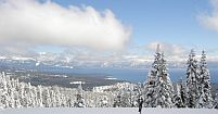 skiing lake tahoe at heavenly