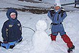 made a snowman hoohay