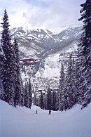 skiing Telluride Colorado