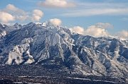 North Face of Mt Olympus east of Salt Lake City Utah