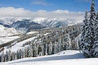Ski Vail Colorado,looking down Hunky Dory