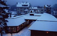 one of shopping malls in Zakopane