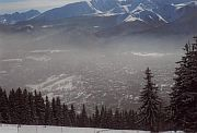 view of Polish Zakopane from Gubalowka