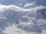mountain view of stockhorn region